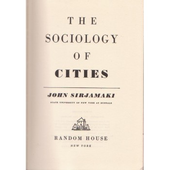 The Sociology of Cities