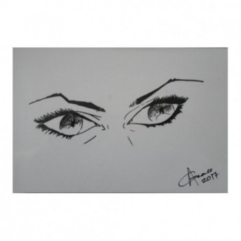 Eyes Scrutinize - Art Piece