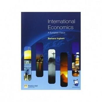 International Economics  A...