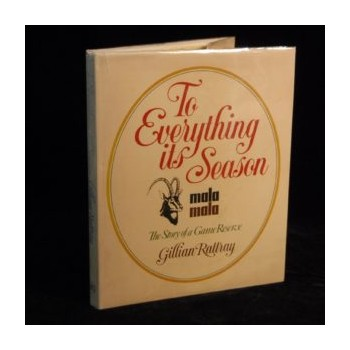 To everything its season:...