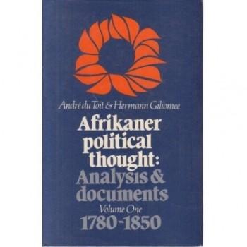 Afrikaner Political...